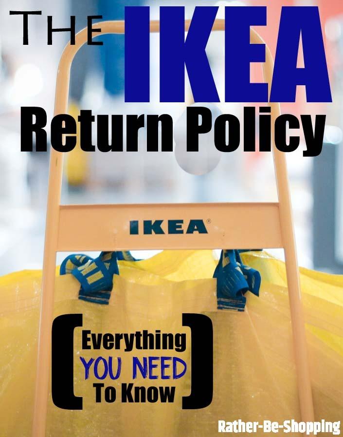 Ikea return policy
